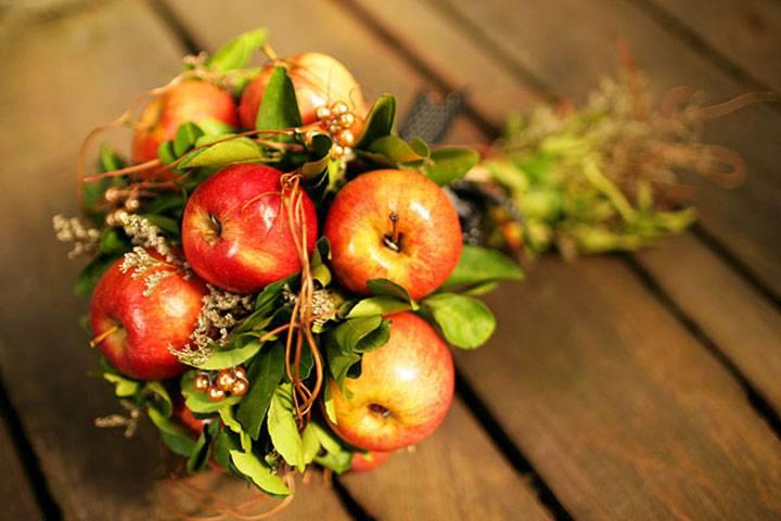 Свадьба оригинально: фруктовое торжество