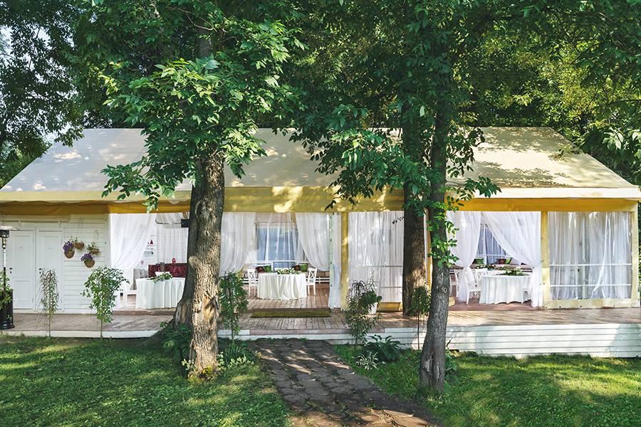 свадебная терраса кафе-ресторана Причал